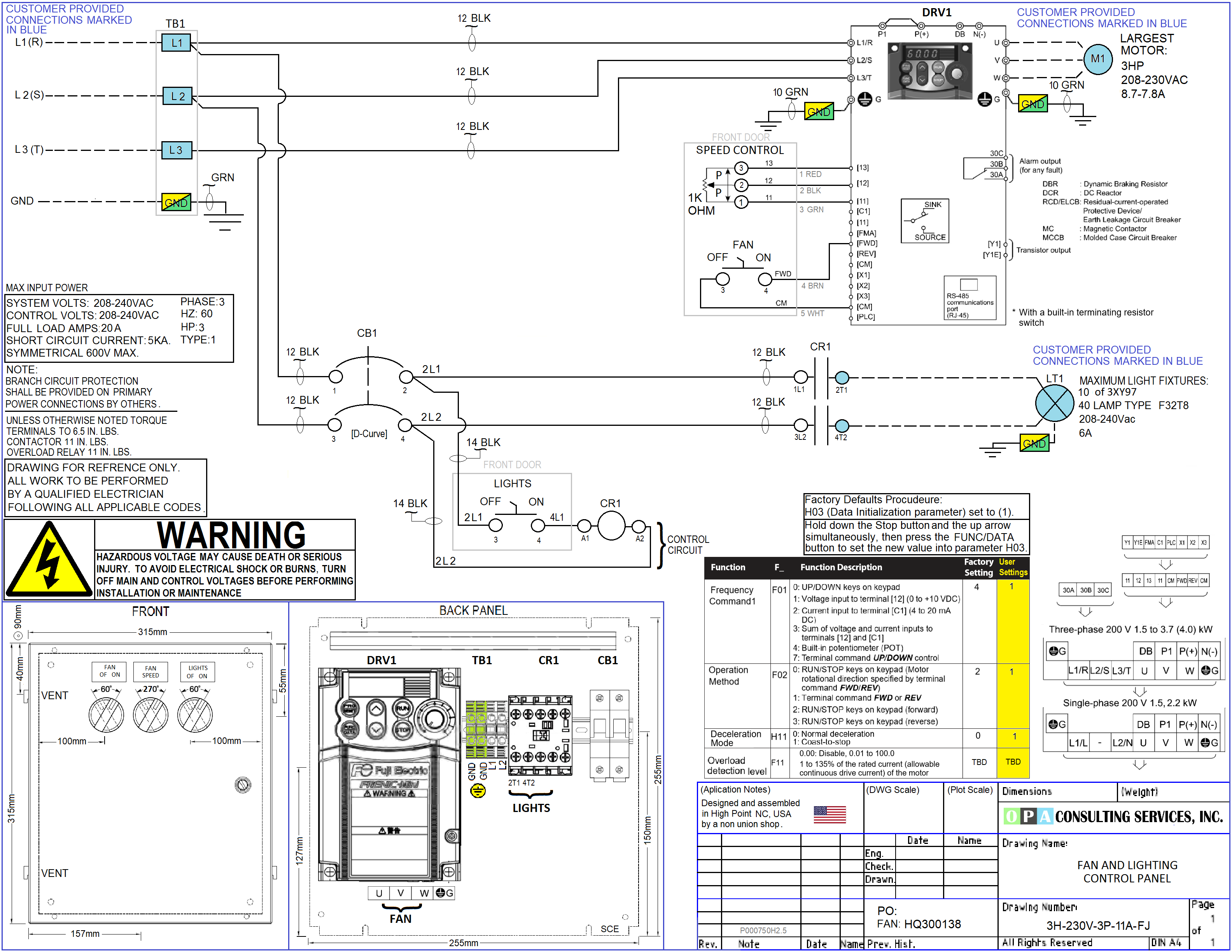 AE864AA Vfd Control Panel Wiring Diagram | Wiring LibraryWiring Library